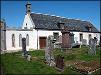 The old church at Edderton, Easter Ross