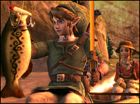 Screenshot from Legend of Zelda: Twilight Princess