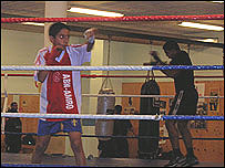 Boxing club in Rosengard