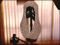 Image of a judges wig