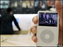 Apple iPod, AFP/Getty