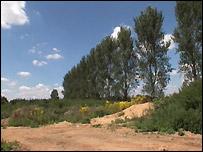 The site at Eynsham