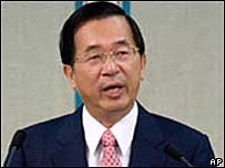 President Chen Shui-bian (file image)