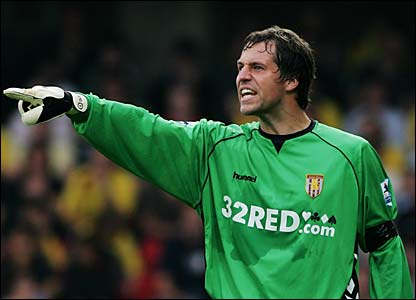 Villa keeper Thomas Sorensen