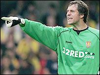 Aston Villa keeper Thomas Sorensen
