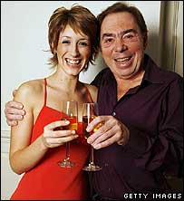Connie Fisher,  Andrew Lloyd Webber