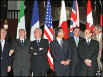 G7 finance ministers in Singapore