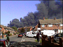 Picture of fire courtesy of reader Toby Hindson