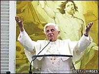 El Papa en la bendición del domingo