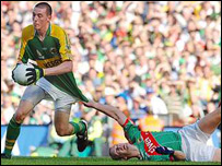 Kieran Donaghy was devastating for Kerry in the crucial early stages