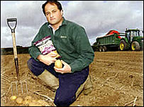 Will Chase, founder of the Tyrrells Potato Chip company