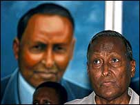 Abdullahi Yusuf, Somalia's interim president (archive image)