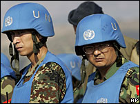 Chinese peacekeepers in Lebanon - 30/7/06