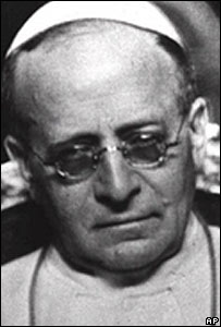 File picture of Pope Pius XI