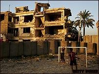 Zona destruida de Bagdad.