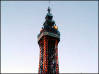 Blackpool Tower courtesy of Freefoto.com