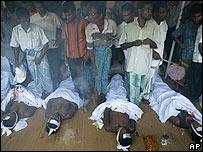 Dead Sri Lankan Muslims