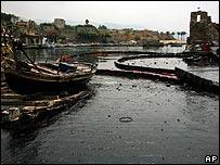 Byblos oil damage