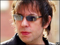 Ian McCulloch outside court