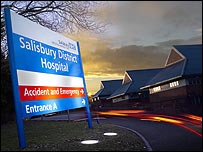 Salisbury District Hospital - courtesy Salisbury NHS Foundation Trust