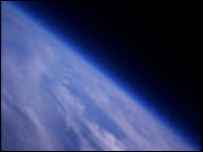 View from 30km above Cambridge (Picture courtesy of Cambridge University)