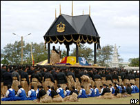 Funeral of King Taufa'ahau Tupou IV - 19/9/06