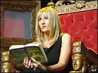 JK Rowling reading Harry Potter and the Half-Blood Prince