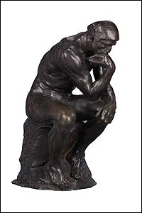 The Thinker, 1881-82 � NGV Photographic Services