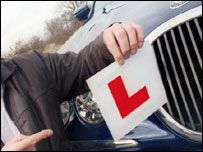 Learner driving sign
