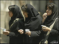 Women at Tehran University