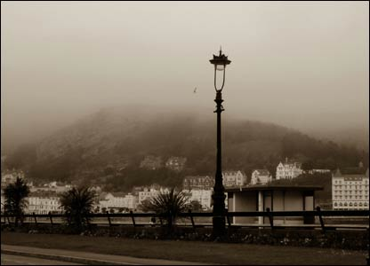 The Great Orme, Llandudno as the evening mist descended (Liz Grant, Sheffield)