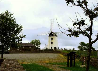 Llynon Mill on Anglesey, sent in by Hefin Hughes