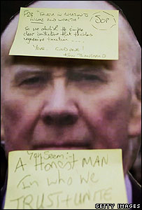 Sir Menzies Campbell cardboard cut-out