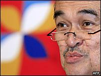 El primer ministro de Malasia, Abdala Badawi