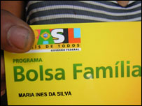 Bolsa Familia card