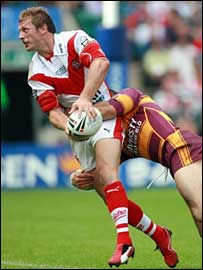 Sean Long in action for St Helens