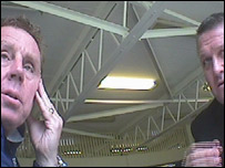 Harry Redknapp and Peter Harrison