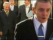 UPRG delegation pictured after meeting Bertie Ahern