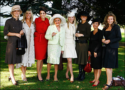 Wives and girlfriends of the European Ryder Cup team get ready for The Curragh