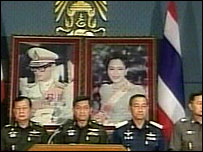 Army chief Gen Sonthi in TV address - 20/9/06