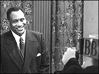 Robeson at the BBC