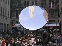 Anish Kapoor's Sky Mirror