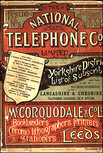1888 Yorkshire phone book