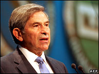 World Bank President, Paul Wolfowitz