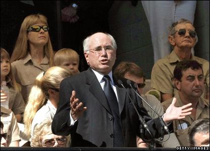 Prime Minister John Howard