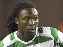 Celtic midfielder Evander Sno