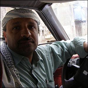 منصور فاضل- سائق تاكسي