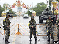 Soldiers in Bangkok 20/9/06