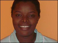 Maud Phiri, Zambian nurse working in the UK