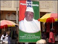 Jammeh poster